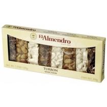 Восточные сладости El Almendro Туррон Ассорти из 3 видов 200 гр