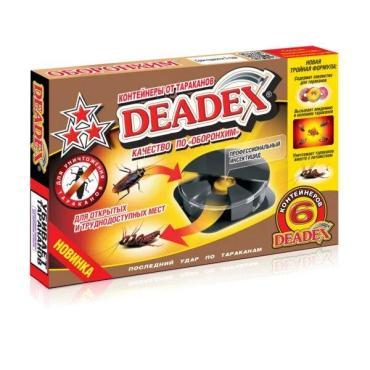 Контейнеры Deadex от тараканов