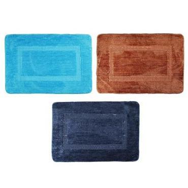 Коврик для ванной Vetta 50х75 см, микрофибра, 3 цвета