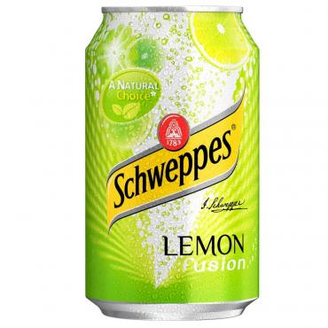 Напиток газированный Schweppes Lemon, 330 мл., жестяная банка