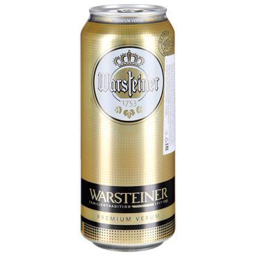 Пиво Warsteiner Premium Verum светлое фильтрованное 4,8%