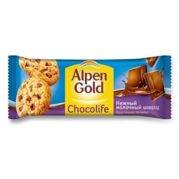 Печенье Alpen Gold Chocolife с шоколадом