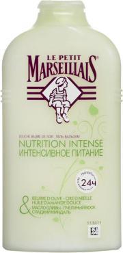 Гель для душа Le Petit Marseillais масло оливы пчелиный воск молочко миндаль