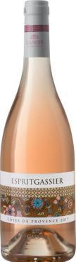 Вино Эсприт Гассье / Esprit Gassier,  Сира, Гренаш, Сенсо, Верментино,  Розовое Сухое, Франция