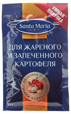 Приправа Santa Maria для жареного и запеченного картофеля