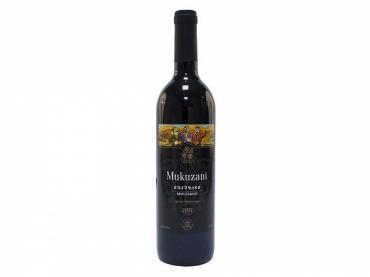 Вино Мукузани Кахетия красное сухое