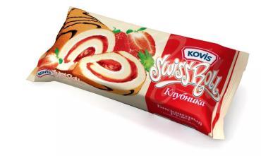 Рулет Kovis клубника