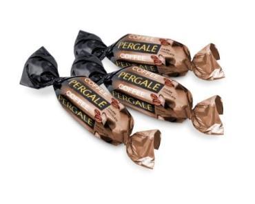 Конфеты Pergale Кофе в темном шоколаде