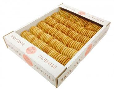 Печенье на натуральном масле Бискотти Кокосанка Вкусное Печенье