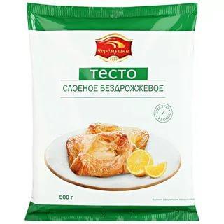 Тесто Черемушки слоеное бездрожжевое