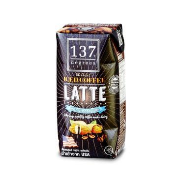 Кофейный напиток 137 Degrees Латте на миндальном молоке, 180мл