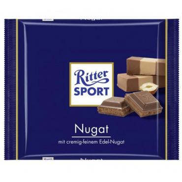 Шоколад Ritter Sport Nugat молочная нуга