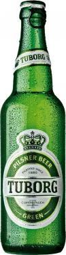 Пиво Tuborg Green очень светлое фильтрованное 4,6%