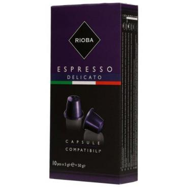 Кофе в капсулах RIOBA Delicato 10шт