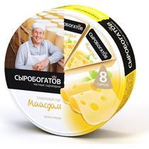 Сыр плавленый Сыробогатов маасдам 50%