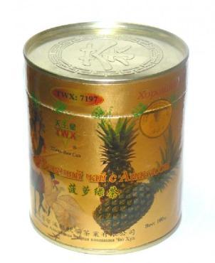 Чай зеленый Чю хуа 7197 С ананасом
