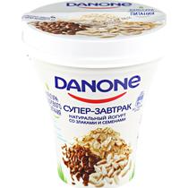 Данон Йогурт питьевой Злаки семена 2,6% 235г Ст. ГК12