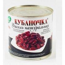 Фасоль Кубаночка Красная натуральная , 400 гр, ж/б