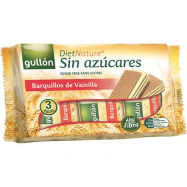Вафли Gullon Diet nature Barguillos de vainilla ванильные