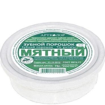 Порошок Артколор зубной мятный