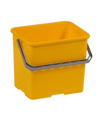 Ведро Vileda прямоугольное желтое пластик 6л.