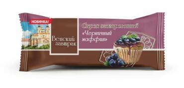 Сырок глазированный Венский завтрак Черничный маффин
