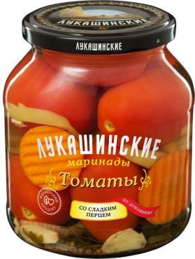 Томаты Лукашинские маринованные по-домашнему со сладким перцем