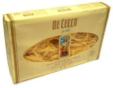 Паста De Cecco Талятелле яичная гнезда № 104, Италия