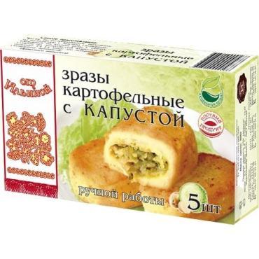 Полуфабрикат От Ильиной Зразы картофельные с капустой