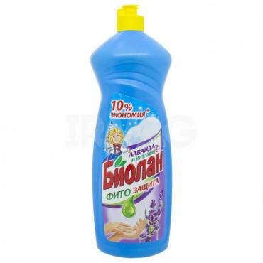 Средство для мытья посуды Биолан лаванда с витамином Е