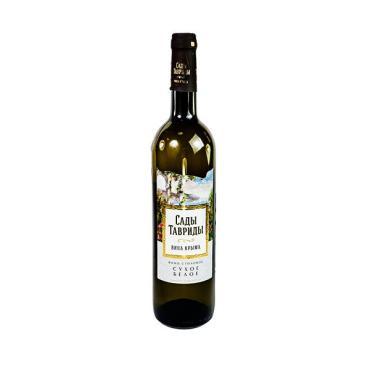 Вино Сады Тавриды Шардоне столовое сухое белое