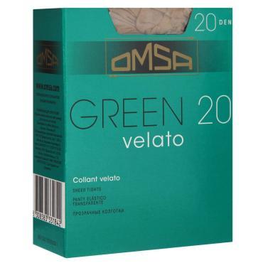 Колготки OMSA Green 20 den caramello размер 4
