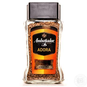 Кофе Ambassador Adora растворимый сублимированый