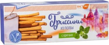 Хлебные палочки ВастЭко Гриссини из полбы с орегано