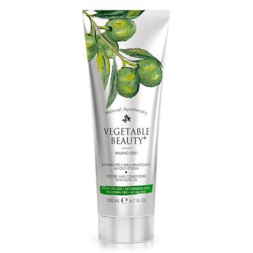 Бальзам для волос Vegetable Beauty Восстанавливающий с маслом оливы