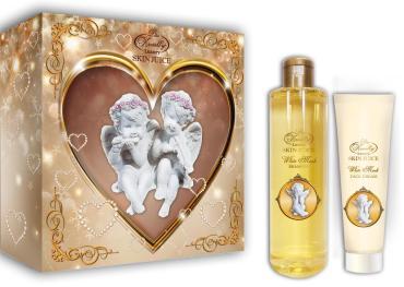 Набор Liss Kroully Вайт Муск шампунь, крем для лица
