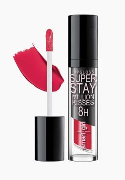 Блеск для губ Belor Design Smart Girl Million Kisses суперстойкий 207 голливудский красный