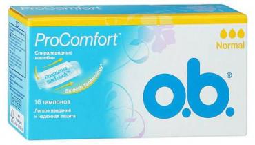Тампоны O.B. ProComfort Normal 16+8 шт.выгодная цена