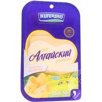 Сыр Киприно  слайсерная нарезка 50% Алтайский , 125 гр., ПЭТ