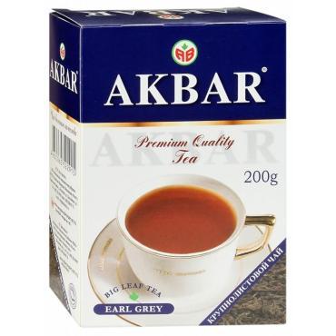 Чай Akbar Граф Грей черный с ароматом бергамота