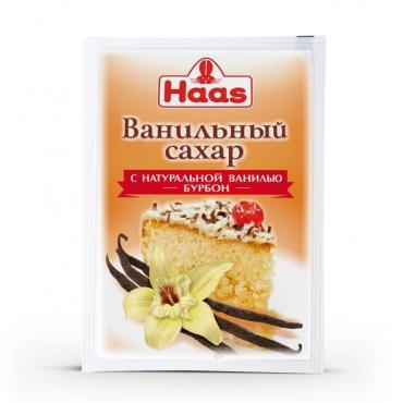 Сахар ванильный Haas С натуральной ванилью Бурбон