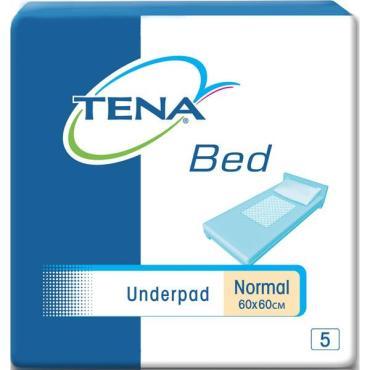 Пеленки одноразовые Tena Bed Underpad Normal для взрослых 60х90см 5 шт