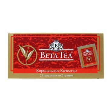 Чай Beta Tea Королевское качество черный в пакетиках