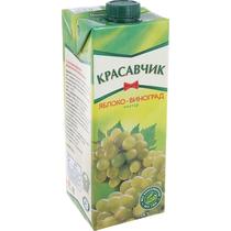 Нектар Красавчик Яблоко-Виноград 0,93л.