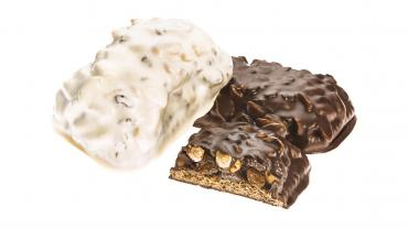 Печенье в темной глазури Сажинский Шафл
