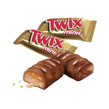 Конфеты Twix minis, флоу-пак