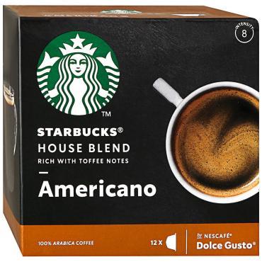 Кофе Starbucks жареный молотый средней обжарки House Blend Americano в капсулах 12шт