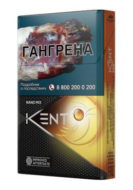 Сигареты Kent с фильтром Nano Mix Sunset