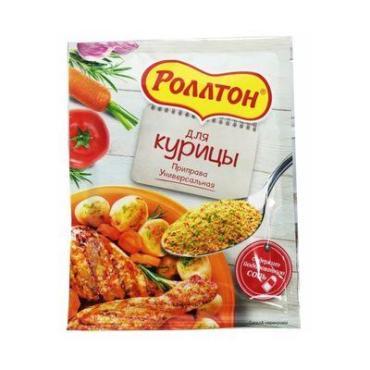 Приправа Роллтон для курицы Универсальная, 80 гр., сашет