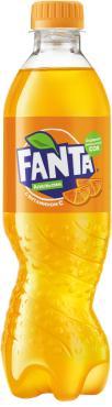 Газированный напиток Fanta Апельсин с соком 500 мл